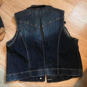 Jackets & Coats - Gilet vintage denim jacket